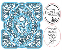 Simply Refined Dies & Stamps - Moments, Birthday Butterflies