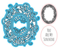 Simply Refined Dies & Stamps - Moments, Sunshine Vines