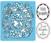 Simply Refined Dies & Stamps - Moments, Sympathy Bouquet