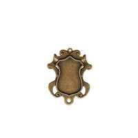 Spellbinders A Gilded Life - Shield Bezel - Small - Bronze