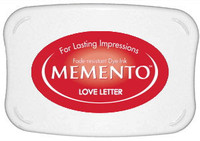 Memento Full Size Ink Pad - Love Letter