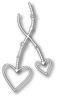Memory Box Craft Dies - Fancy Heart Duet
