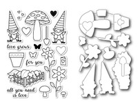 Memory Box Open Studio Stamps & Dies Bundle - Love Grows