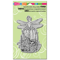 Stampendous Cling Rubber  Stamps - Fairy Aviary
