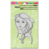 Stampendous Cling Rubber  Stamps - Beautiful Braid