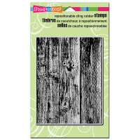 Stampendous Cling Rubber  Stamps - Wood Background