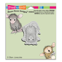 Stampendous Cling Rubber  Stamps - Handstand