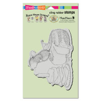 Stampendous Cling Rubber  Stamps - Gouda Wish