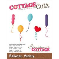 CottageCutz Die - Balloons