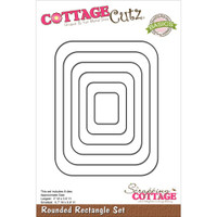 CottageCutz Die - Rounded Rectangle