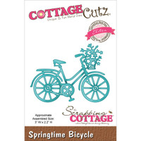 CottageCutz Die - Springtime Bicycle