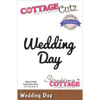 CottageCutz Expressions Die - Wedding Day