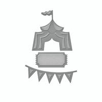 Spellbinders D-Lites  -  Amused 1
