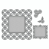 Spellbinders Nestabilities Deco Accents -  Circle Contempo  Decorative Accents