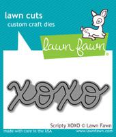 Lawn Fawn Dies - Scripty XOXO
