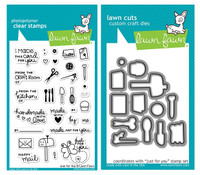 Lawn Fawn Stamps & Dies Bundle - Just For You