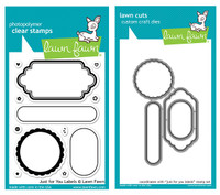 Lawn Fawn Stamps & Dies Bundle - Just For You Labels