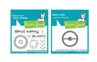 Lawn Fawn Stamps & Dies Bundle - Donut Worry