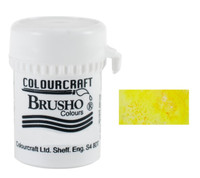 Brusho Crystal Colour - Sunburst Lemon