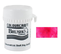 Brusho Crystal Colour - Alizarin Crimson