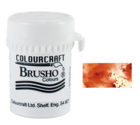 Brusho Crystal Colour - Burnt Sienna
