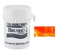 Brusho Crystal Colour - Gamboge