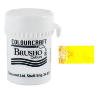 Brusho Crystal Colour - Lemon