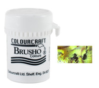 Brusho Crystal Colour - Moss Green