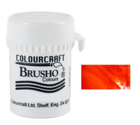 Brusho Crystal Colour - Orange