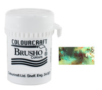 Brusho Crystal Colour - Olive Green