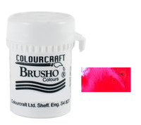 Brusho Crystal Colour - Rose Red