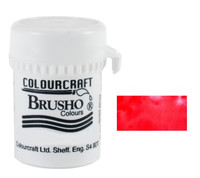 Brusho Crystal Colour - Scarlet