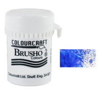 Brusho Crystal Colour - Ultramarine