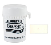 Brusho Crystal Colour - White