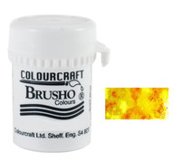 Brusho Crystal Colour - Yellow