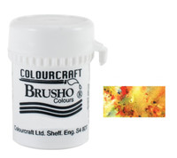 Brusho Crystal Colour - Yellow Ochre