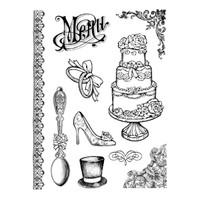 Stamperia High Definition Rubber Stamp - Wedding