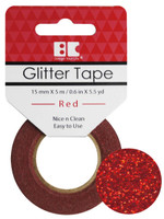 Best Creation Glitter Tape - Red