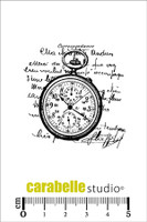 Carabelle Mini Stamps - Collage Montre Gousset