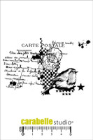 Carabelle A7 Stamps - Collage Carte Postale