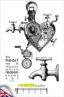 Carabelle A6 Stamps - The Heart Has Its Reasons