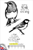 Carabelle A6 Stamps - Every Bird