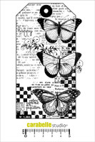 Carabelle A6 Stamps - Tag:3 Papillons