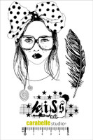 Carabelle A6 Stamps - Kiss