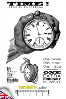Carabelle A6 Stamps - Times