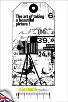 Carabelle A6 Stamps - Tag: A Beautiful Picture