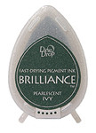 Dew Drop Brilliance Inks - Pearlescent Ivy