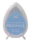 Dew Drop Brilliance Inks - Pearlescent Sky Blue