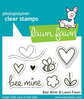 Lawn Fawn Stamps - Bee Mine