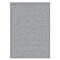 Spellbinders Embossing Folders Donna Salazar Collection : Splattered Circles